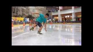 ICE SKATING FREESTYLE TRICKS