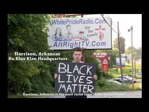 A day in Harrison, Arkansas, Ku Klux Klan Headquarters
