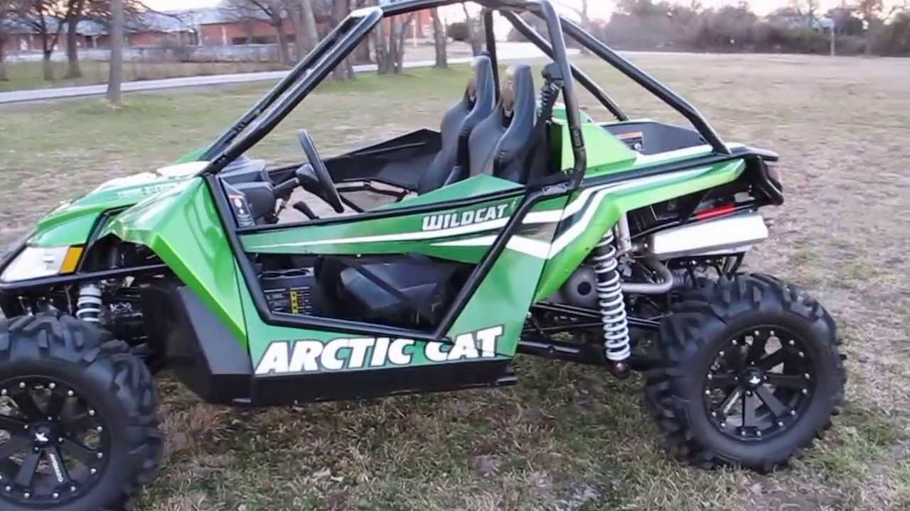 Wildcat Side By Side Low Miles Upgraded Wheels And Tires Fresh