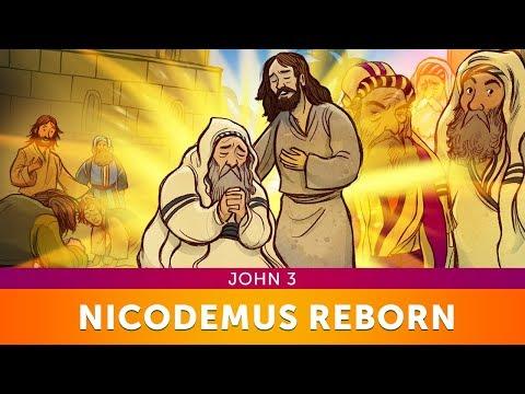 Sunday School Lessons: John 3 Nicodemus Bible Story for Kids   ShareFaith.com