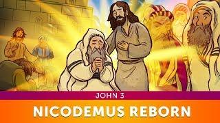 Sunday School Lessons: John 3 Nicodemus Bible Story for Kids | ShareFaith.com