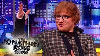 Ed Sheeran On His Bicycle Crash and The Dark Side of Fame The Jonathan Ross Show