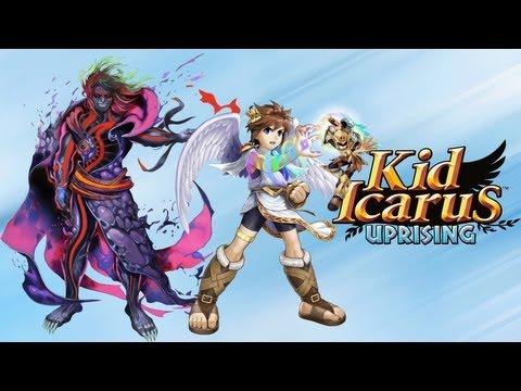 Lets play Kid Icarus: Uprising part 9 (Tanatos? THANATOS!)