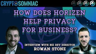 How Does Horizen Keep Business Private?   ZEN   Live Interview W/ Rowan Stone