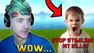 Ninja Plays Duos With a TOXIC Kid & Explains Why He's Mad At The New Generation! | Fortnite