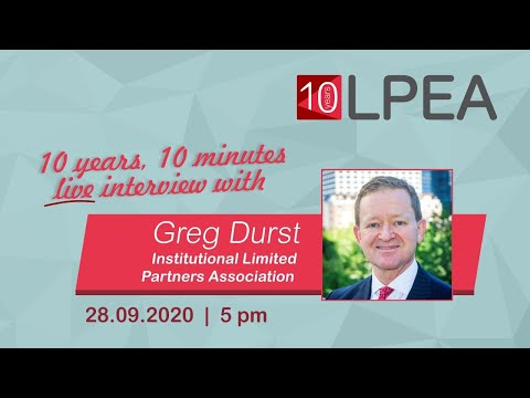 10 years 10 minutes with Greg Durst (ILPA)