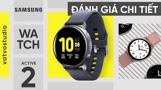 Đánh giá chi tiết smartwatch Galaxy Watch Active2
