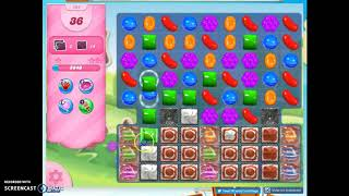 Candy Crush Level 464 Audio Talkthrough, 1 Star 0 Boosters