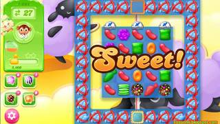 Candy Crush Jelly Saga Level 1602 (3 stars, No boosters)