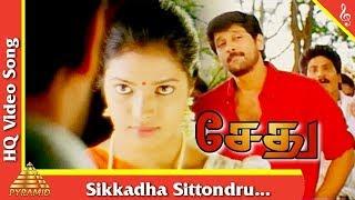 Sikkadha Sittondru Video Song  Sethu Tamil Movie Songs   Vikram   Sriman   Abitha  Pyramid Music