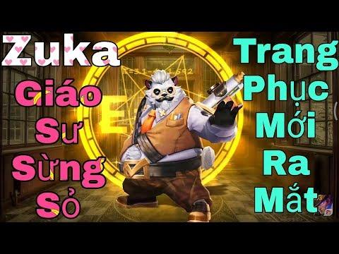 [Gcaothu] Trang phục mới Zuka Giáo Sư Sừng Sỏ chính thức ra mắt - Hiệu ứng chiêu cuối siêu đẹp