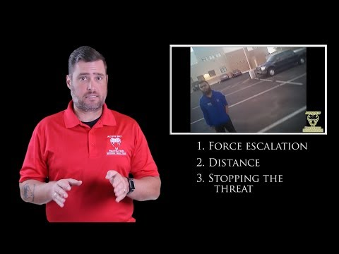 Deputy Must Respond To Serious Threat  Active Self Protection