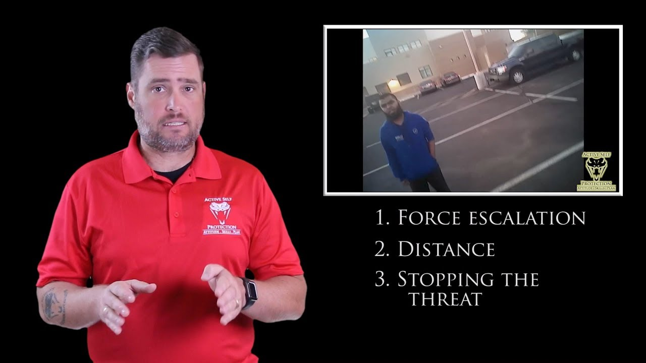 Deputy Must Respond To Serious Threat | Active Self Protection