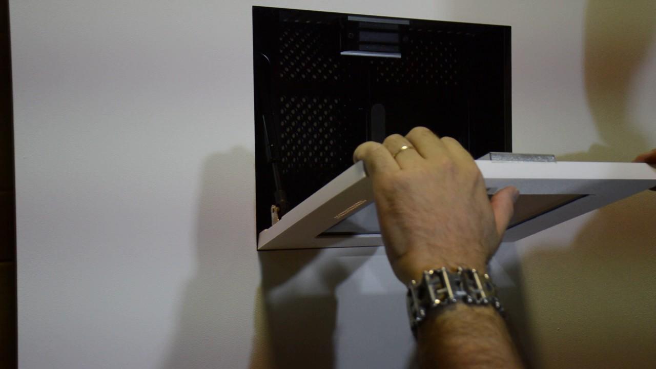 WallSmart flush wall mount for SAMSUNG DB10ET touchscreen  YouTube