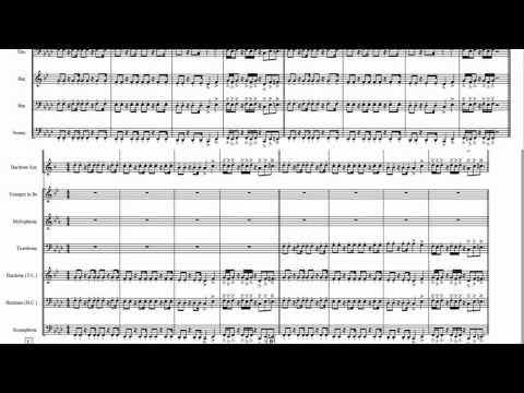 ESPN theme song for MARCHING BAND!