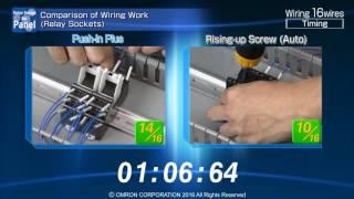 Push-In Plus Terminal - comparison versus screw (auto)