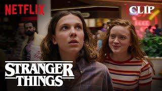 El & Max Shopping Scene | Stranger Things 3 | Netflix