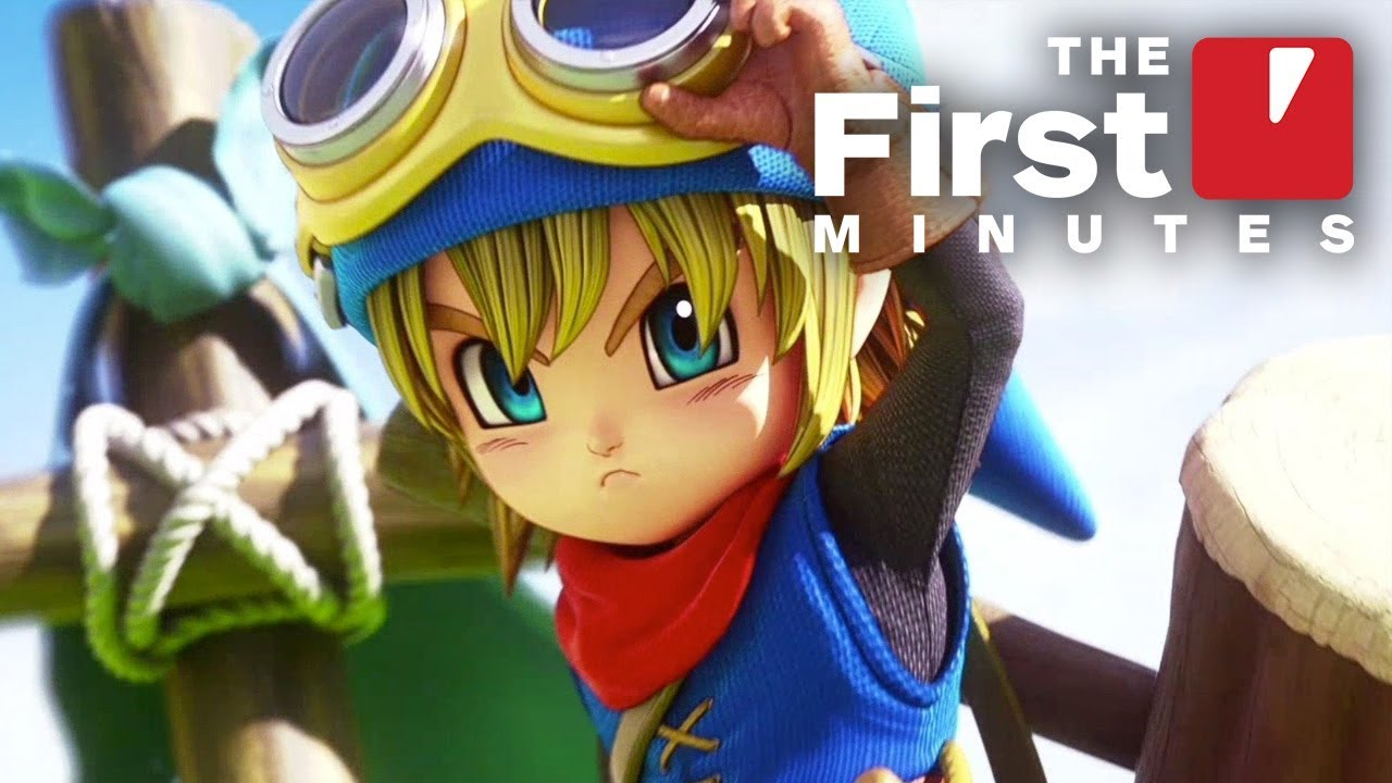 First 20 Minutes of Dragon Quest Builders On Switch