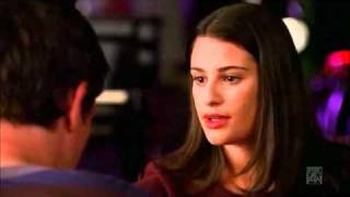 Glee: Rachel and Finn's first kiss