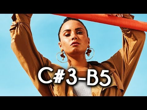 Demi Lovato - 2018 STUDIO Vocal Range! (C#3-B5)