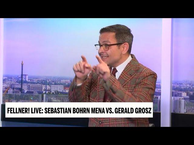 Das Kartenhaus des Angst- und Panikregimes bricht zusammen - Gerald Grosz in Fellner Live