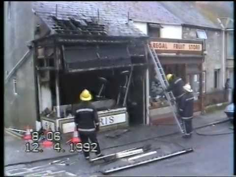 FIRE Kebab take-away destroyed, Portland 1992
