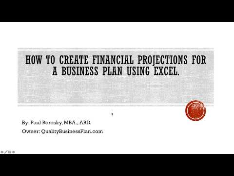 how-to-make-financial-projections-for-a-business-plan-using-excel