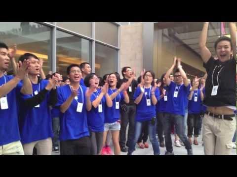 Apple Store, Holiday Plaza Shenzhen Opening