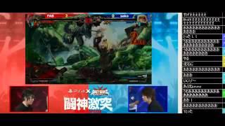 PS4™ ×『GUILTY GEAR Xrd  SIGN 』闘神激突 FAB vs sako