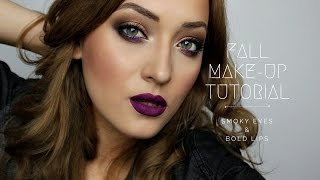 Autumn/Fall Makeup Look || Machiaj puternic de Toamna