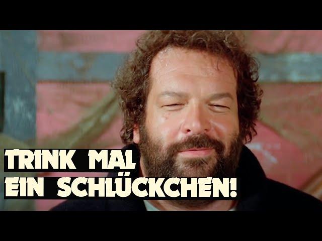 """Bud Spencer in """"Sie nannten ihn Mücke"""" - Schlägerei im Restaurant"""