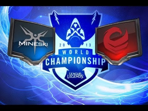 LOL - Mineski vs Vulcun - Season 3 World Championship D2G4 Highlights