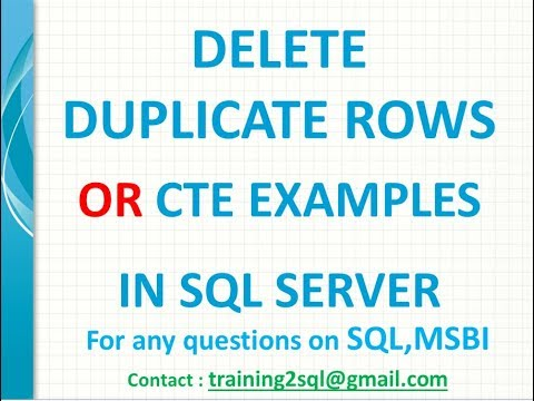 Nested common table expressions (i. E. Cte) – sql server | sqlhints. Com.