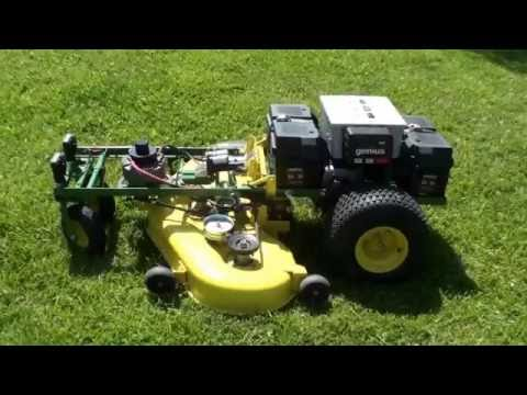 Remote Control Riding Lawn Mower