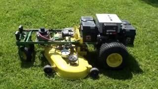 Remote Control Riding Lawn Mower