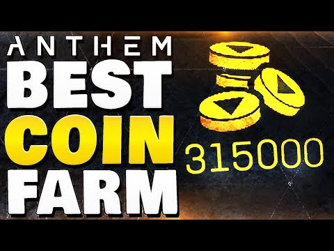 ANTHEM - BEST COIN FARM   Fastest Method To Get Gold Coins !!