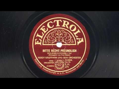 Ferdy Kauffman: Bitte recht freundlich (1929)
