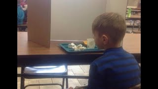 Mom visits late 6-year-old son during lunch Finds he's been publicly 'shamed' by teachers