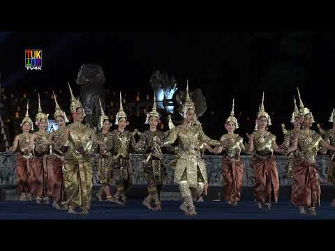 The Royal Ballet of Cambodia - Robam Tep Monorom / របាំព្រះរ