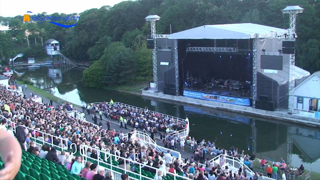 Dubz at Scarborough Open Air Theatre - Visit Scarborough - YouTube