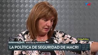 Patricia Bullrich en Código Político (15/03/2018)