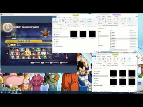 Dragon Ball Xenoverse 2 : Tuto modifier les textures (couleurs)