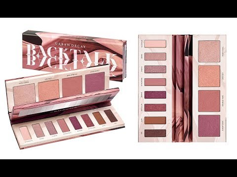 Urban Decay BACK TALK PALETTE: Preview, Swatches e applicazione (Make up Tutorial)