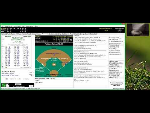 National Pastime III Baseball Philadelphia Phillies @ New York Mets GALVIS CESPEDES