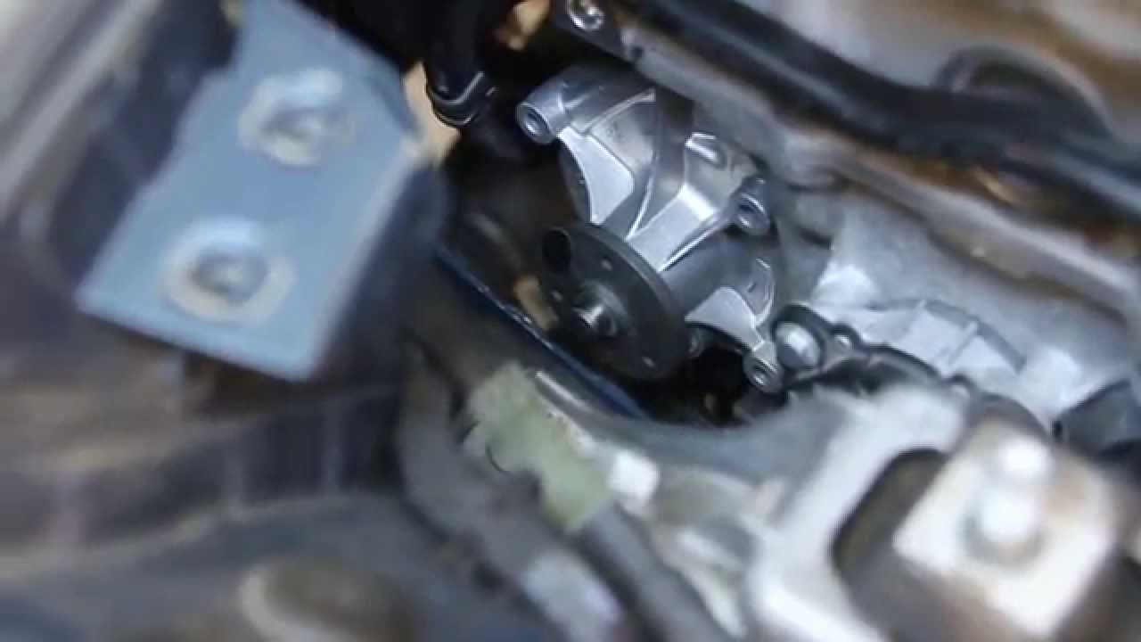 r56 turbo water pump
