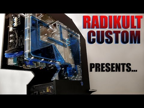 The Black Panther - Unique Scratch PC Build - Final Assemble (time lapse)