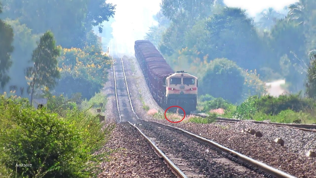 Goods Train Hits Dog - Indian Railways Train Accident ... Indian Railway Accidents