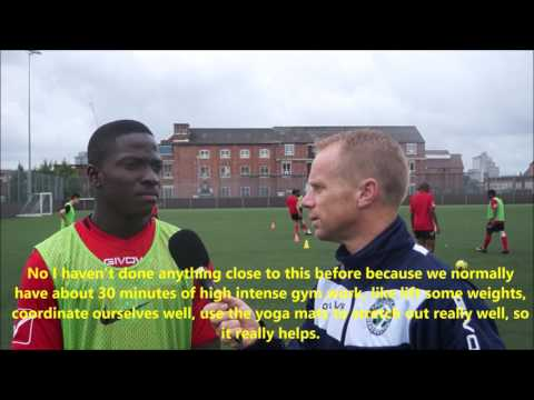 IH Manchester football - Interview with Kingsley