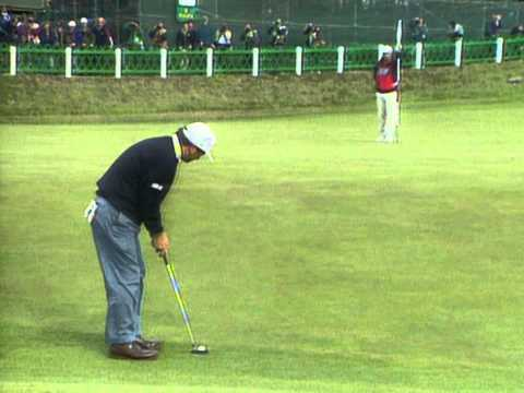 1995 British Open  Costantino Rocca on 18 at St. Andrews