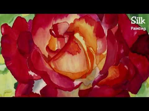 Silk Painting Schweiz – Silk Art on Canvas